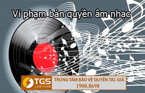 Vi phạm bản quyền âm nhạc