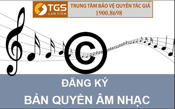 đăng ký bản quyền bài hát